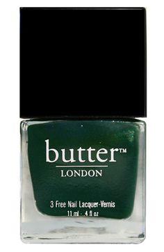 british racing green / butter london