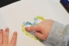 Fingerprint heart valentine keepsake
