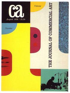magazine cover by Freeman Craw (1959)
