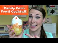 Candy Corn Fruit Cocktail | Pintober - YouTube