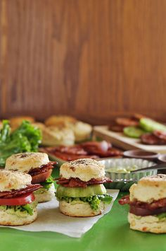 BLT Biscuit Sliders | The Candid Appetite