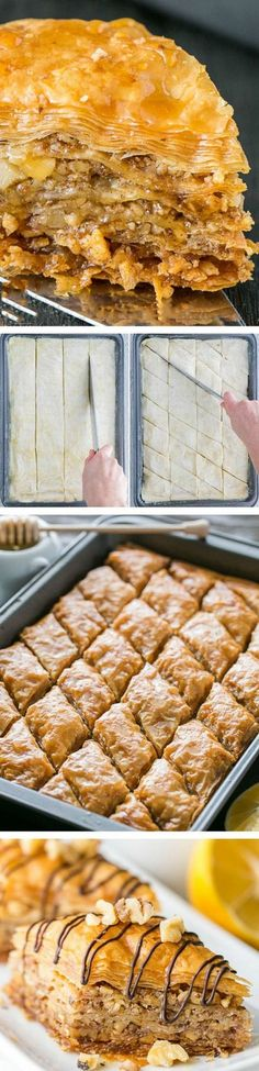 Baklava~This baklava is flaky, crisp, tender and I love that it???s not overly sweet. No store-bought baklava can touch this!