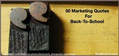 50 Marketing Quotes