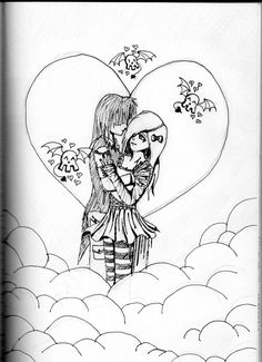 Emo Love - Drawing
