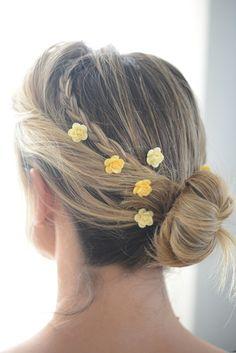 embellished bobby pins