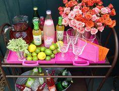 fun drink cart