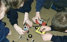 testimonial and examples of using robolab and lego for teaching programming - year 3 primary