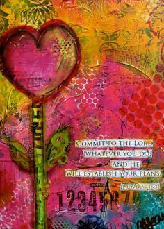 ~Proverbs 16:3 art collage