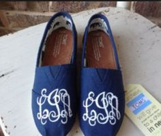 Shoes...Monogrammed