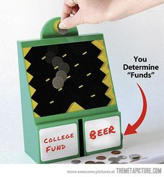 Let fate determine where your money goes…