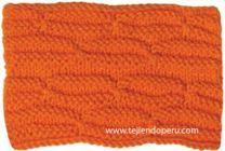 Tutorial: punto ochos horizontales tejido en dos agujas o palitos