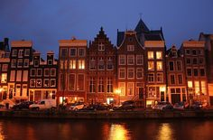 From the canals - Amsterdam, Holland