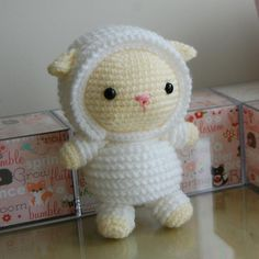 Lamb crochet pdf pattern