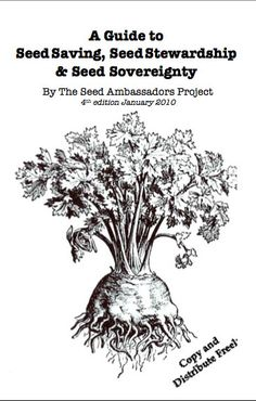 "Free pdf book ""A Guide to Seed Saving, Seed Stewardship & Seed Sovereignty"""
