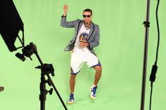 What is Stephen Curry doing?