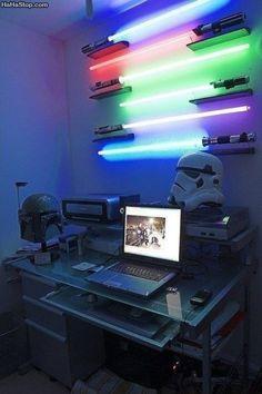 Star Wars Office Decor