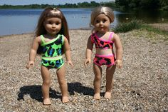 Arts and Crafts for your American Girl Doll: Bikini for American Girl Doll doll cloth, american girl patterns, girl doll, diy crafts, doll patterns, art, bikini, ag dolls, american girls