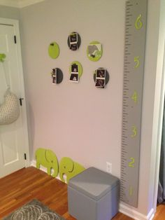 Project Nursery - Gray and Lime Green Nursery