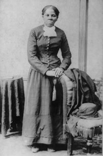 """Harriet Tubman: in 1849, she escaped from slavery in the South to become a leading abolitionist before the American Civil War. She risked her life regularly by taking frequent """"trips""""  back to the south to free other slaves on plantations. She led hundreds to freedom to the North as one of the most important """"conductors"""" on the Underground Railroad, a secret network of safe houses for those escaping from slavery."""