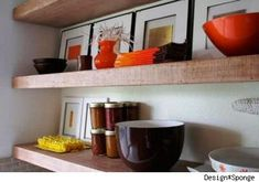 ikea woodenshelf - LOVE THIS!