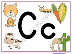 Letter Cc Learning Pack from Homeschoolin Mama on TeachersNotebook.com -  (25 pages)  - The Letter Cc Learning Pack for your little Tater Tots!