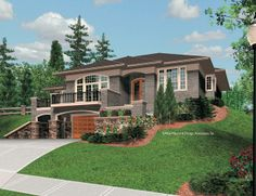 Mascord House Plan 1220 - The Parkview