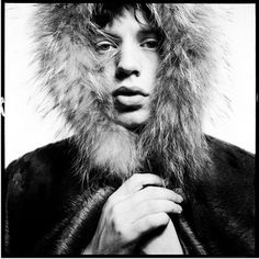 Mick Jagger. Photo: David Bailey.