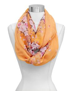 Maggie Infinity Scarf in Nectar