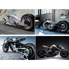 Top 10 Wierdly Futuristic Concept Bike Designs   Gadgets & New... via Polyvore