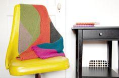 DIY Knitting Pattern: Block colour cotton baby blanket via Tuts+. #knitting #pattern #babyblanket