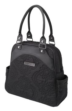 Hello chic quilted diaper bag! I'd like to take you home with me :)