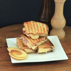 Apple, Brie and Ham Panini for #WeekdaySupper