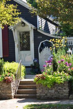 Louisville shotgun house (with a secret garden!)