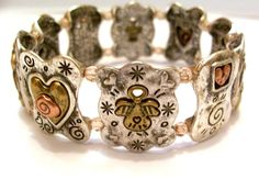 Christian Bracelet of Angels Hearts and by CreationsByJanetUSA, $30.00