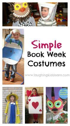 Simple book week costume ideas - Laughing Kids Learn
