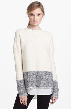 Vince 'Square' Boatneck Sweater