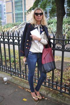 Street Style at London Fashion Week  #StreetStyle #Fashion #LFW #LondonFashionWeek