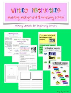 This site has a lot of great writing lessons and Smartboards