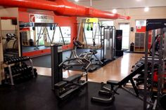 This RubberFlooringInc Customer created the ultimate gym space using our 8mm Pre Cut Rubber Rolls. You can take your own inspiration from this and work it into your own Dream Home Gym!