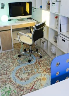 cool office flooring