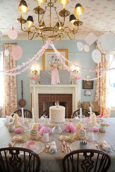 Vintage Tea Party Ideas & Decorations