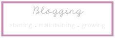 The Small Things Blog: Blogging: Part 2 // growing your blog