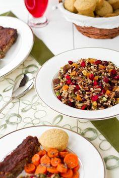 Vegan Holiday Dinner Recipes #recipes #vegan