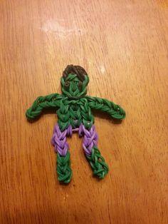The Hulk - Rainbow Loom