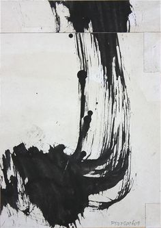 Employing the idea in music of making variations on a theme by another composer, the Iberian Variations by Cecil Touchon are an exploration of abstract expressionist use of black ink gestural or 'action painting' to make abstract compositions.