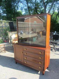 Willett Furniture Cherry China Cabinet