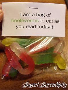 Sweet gift idea for little readers! :)