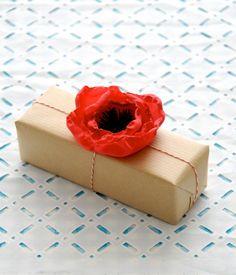 DIY Poppy Flowers ~ 5 MINUTE DIY!!!