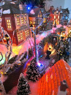 Dickens Christmas Village - Department 56, via Flickr.