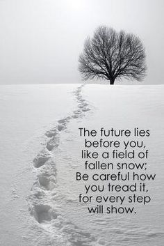 WHy do I love this? Because fallen snow has always caught my eye! hope simple pure and beautiful it is! what a lovely saying to go with such a lovely thing!